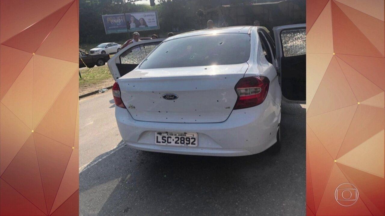 Homem morre após carro da família ser fuzilado pelo Exército no Rio