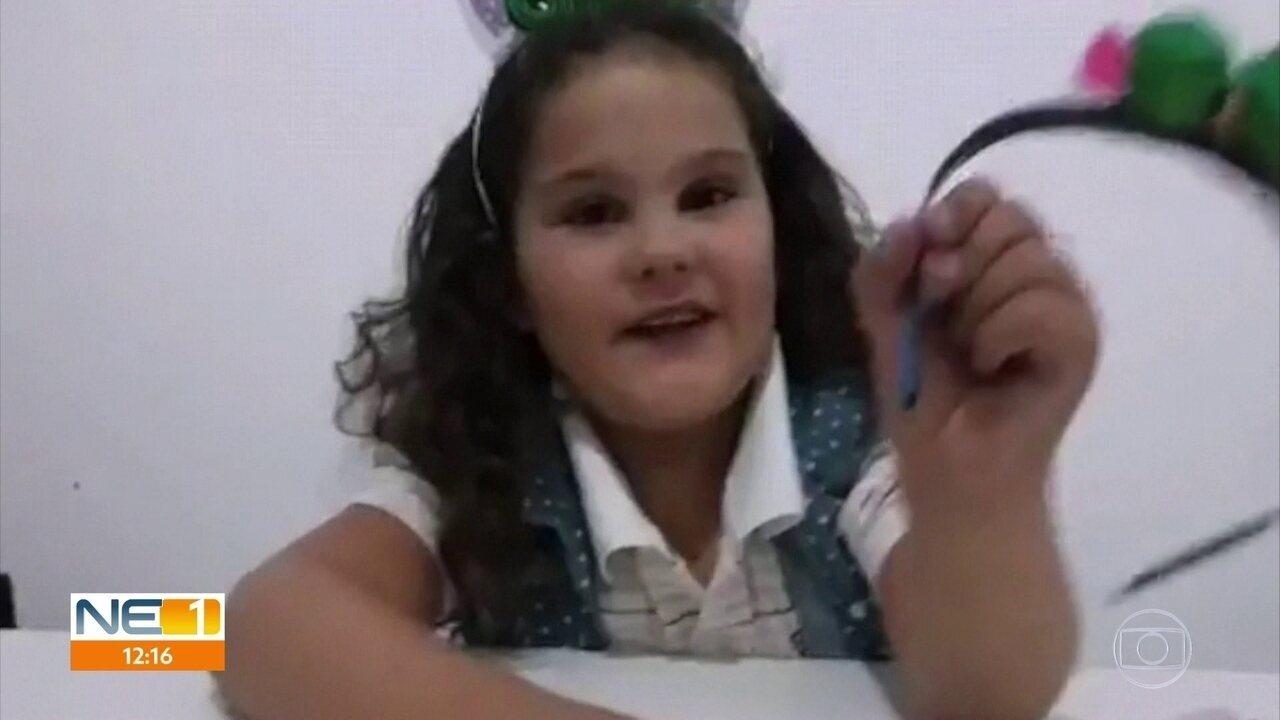 Corpo de menina que passou por transplante de coração no Recife é velado em Serrinha (RN)