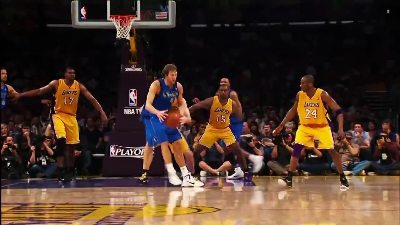 O fadeaway que se tornou símbolo de Dirk Nowitzki na NBA
