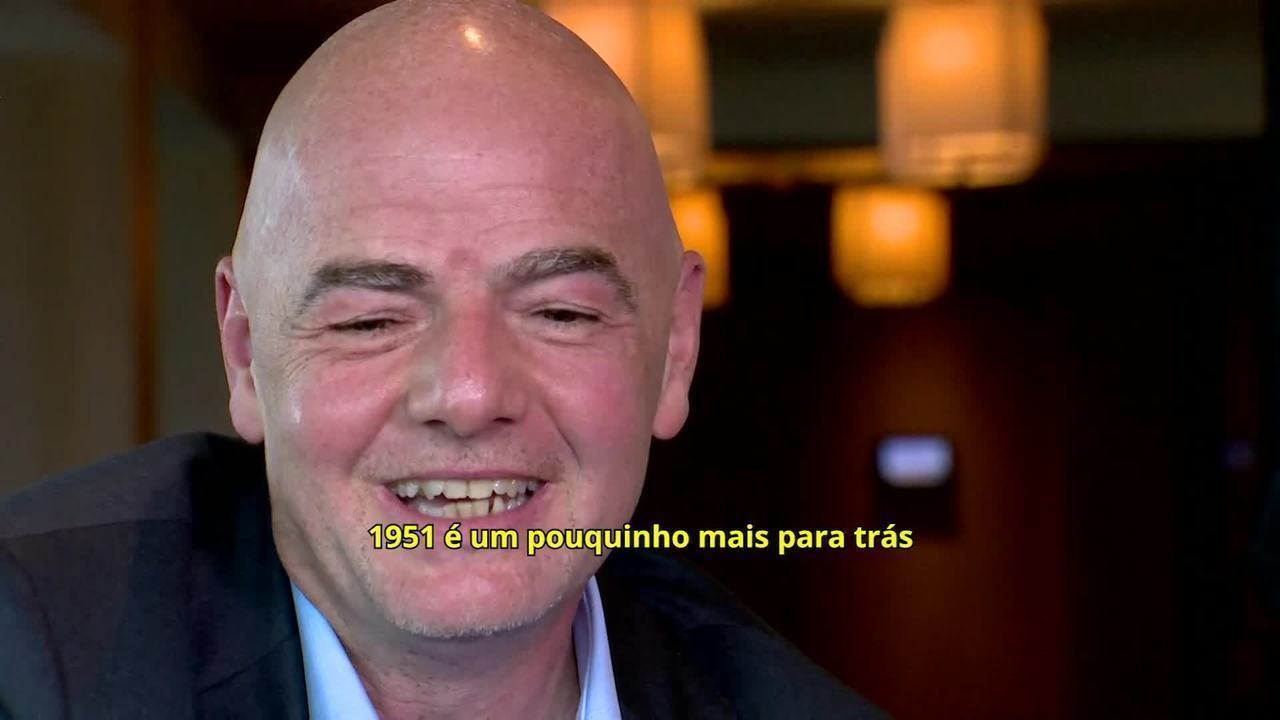 """Gianni Infantino talks about the subject """"world = ="""" """"= ="""" """"= ="""" """"= ="""" """"="""