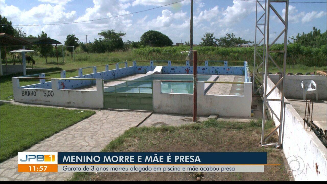 Criança morre afogada na Paraíba e mãe é presa suspeita de negligência