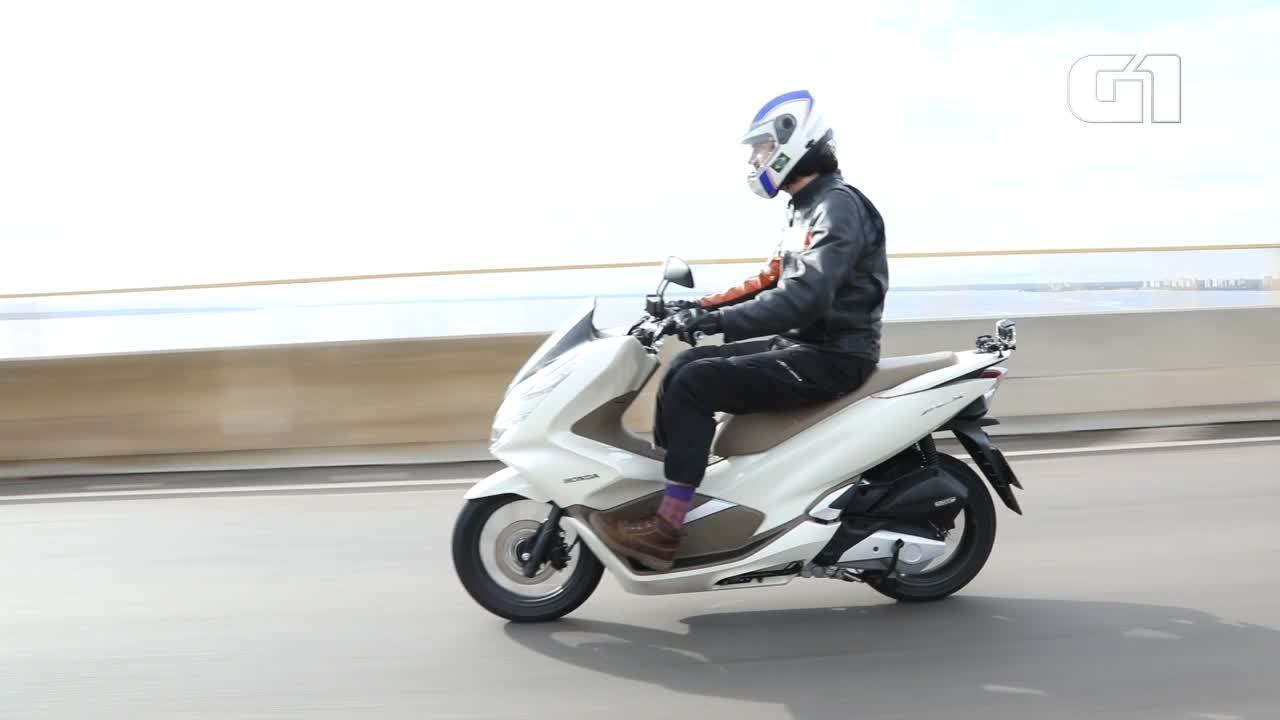 VÍDEO: novo scooter Honda PCX é avaliado
