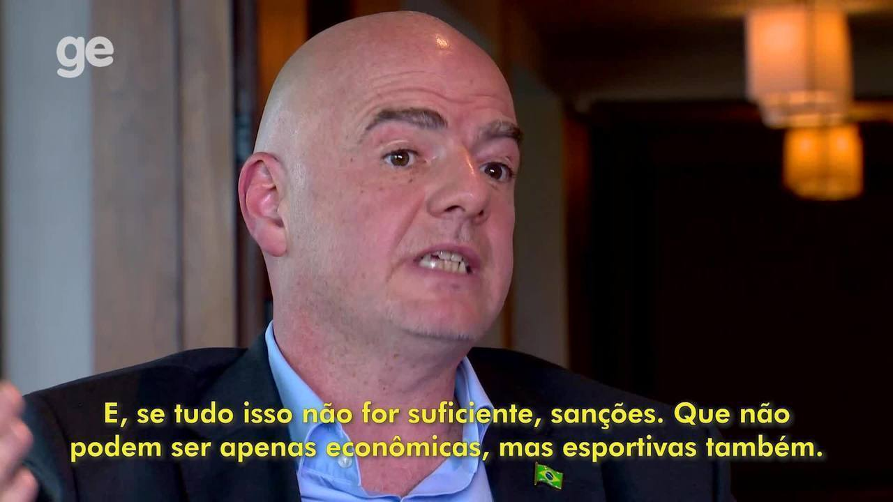"""Infantino talks about racism in football: """"= = = = ="""" = = = """"= ="""" ="""
