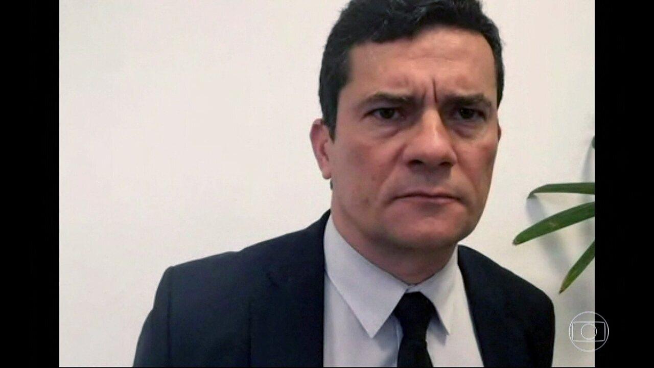 Sérgio Moro fala sobre fuzilamento no Rio