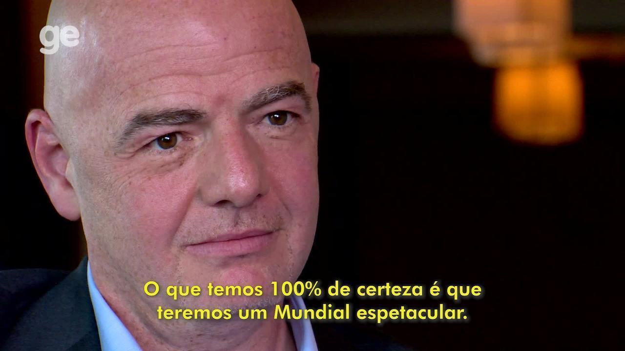 Infantino is not taking the World Cup with 48 choices, but it believes in an amazing world in Qatar.