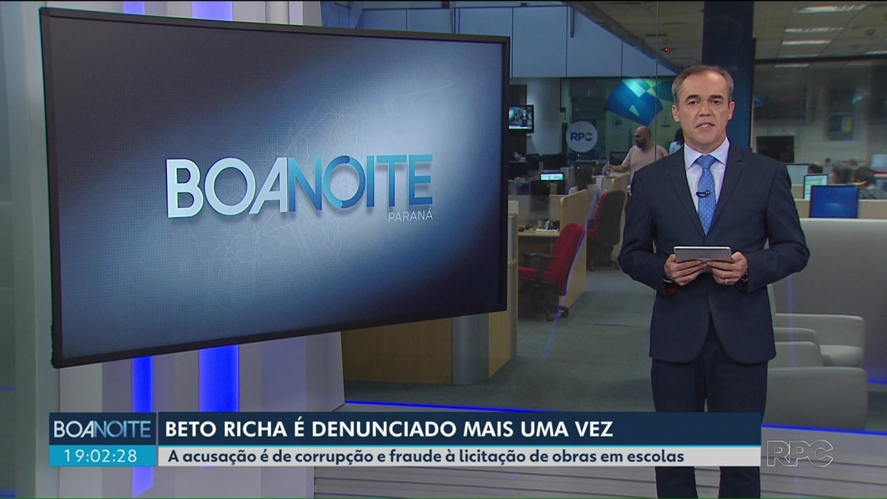 Ex-governador Beto Richa é denunciado por corrupção e fraude à licitação