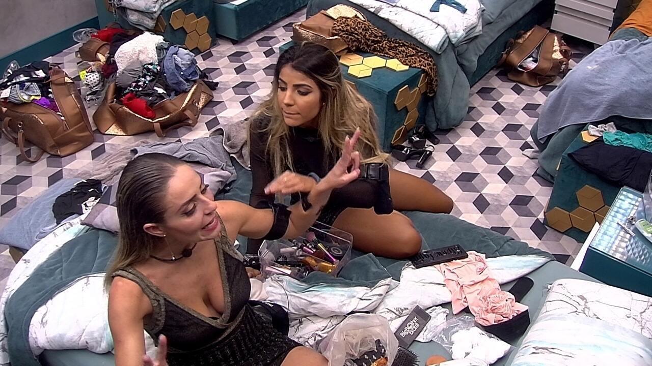 Hariany para Paula: 'Vou falar depois porque sou sua amiga de verdade'