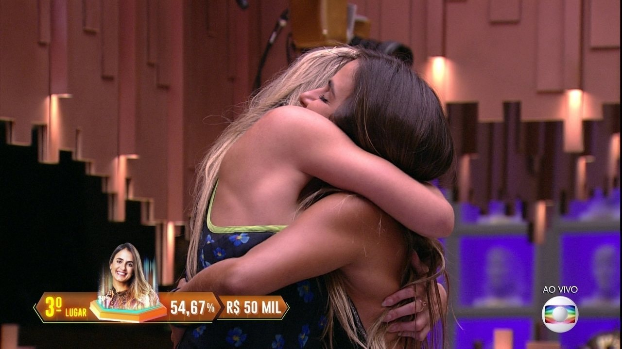 Carolina é a terceira colocada do BBB19, com 54,67% dos votos