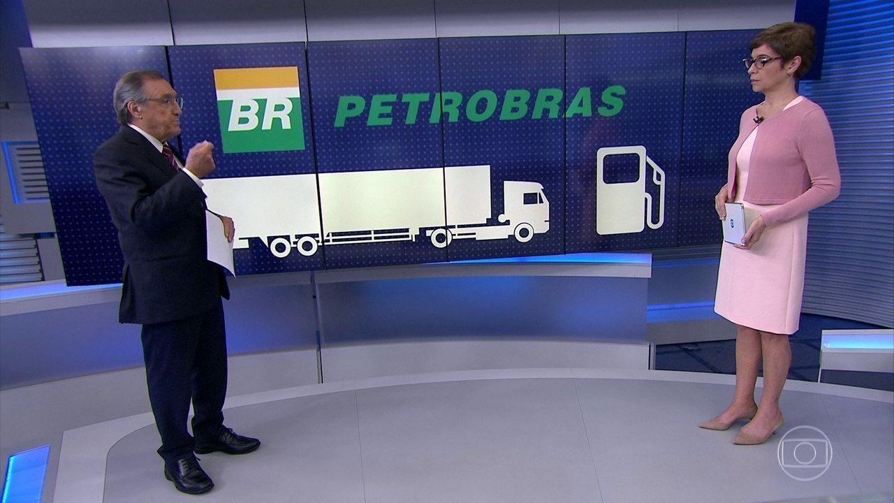Petrobras desiste de aumento no preço do diesel