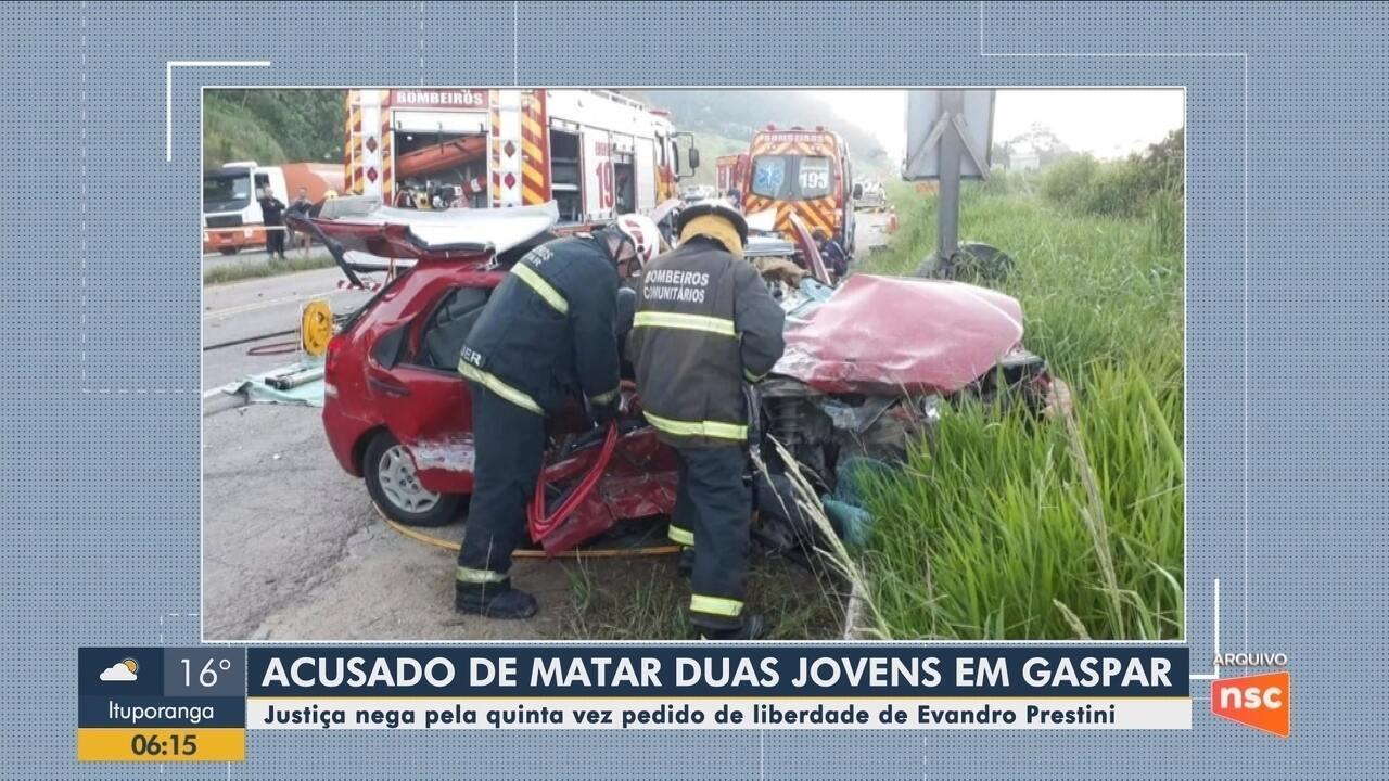 Justiça nega 5º pedido de soltura de motorista do Jaguar; perícia tenta concluir análise