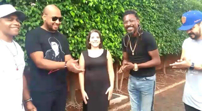 G1 conversa com Sudário e integrantes do grupo Pixote que se apresentam em Uberlândia