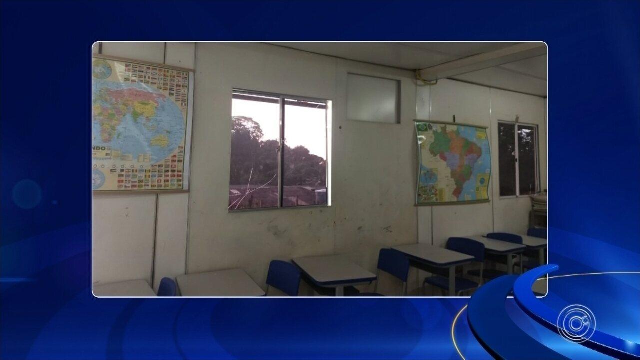 Justiça interdita escola que funcionava dentro de contêiner em Mairinque