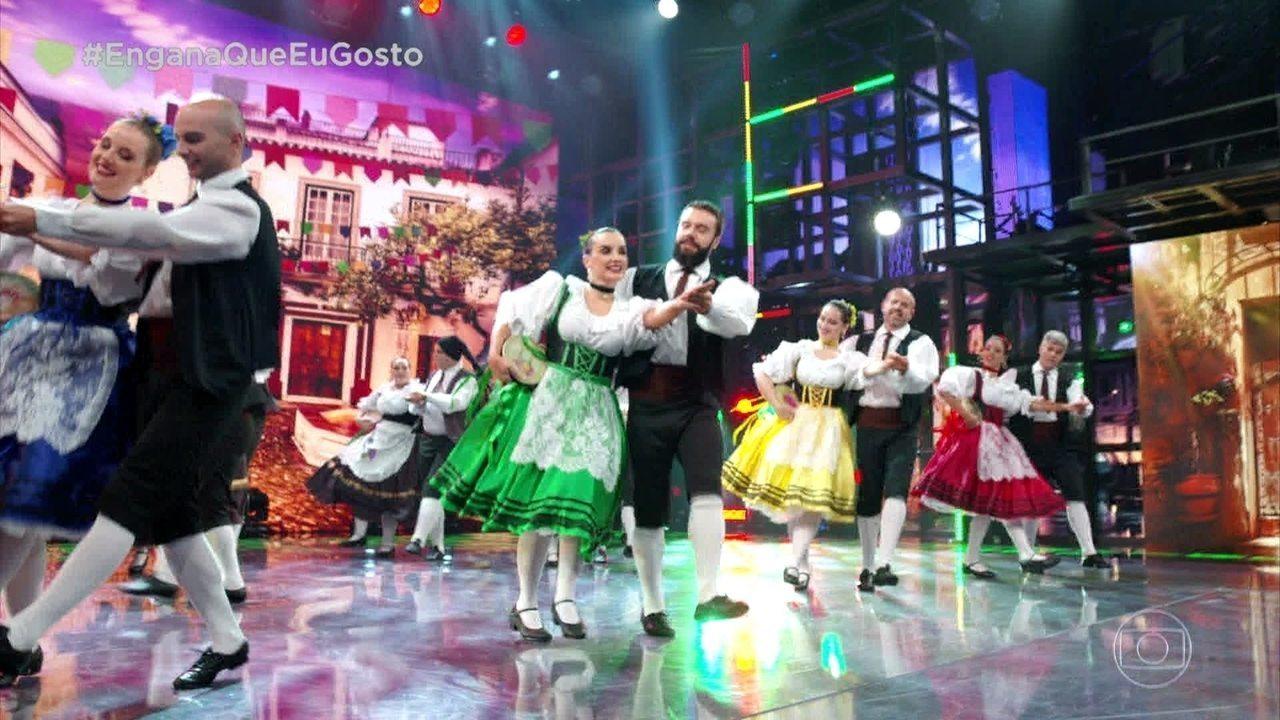 Engana Que Eu Gosto: apresenta a Dança Italiana