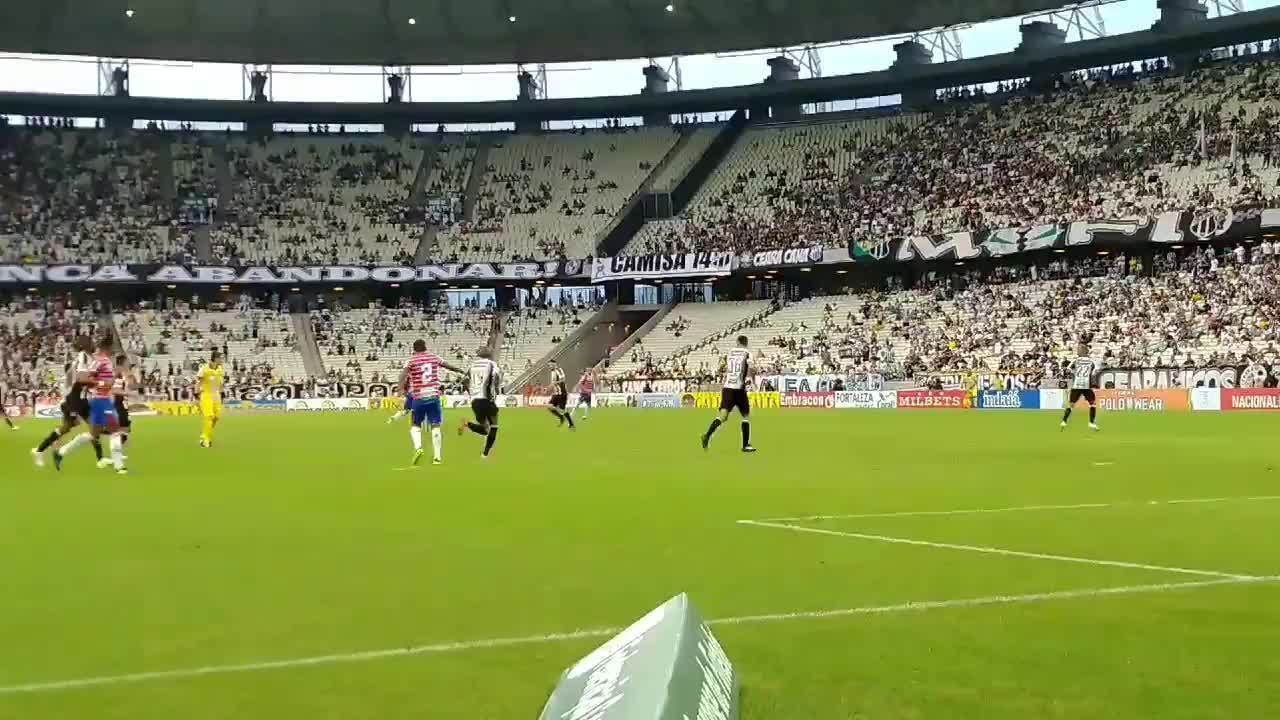 Veja por outro ângulo o 2º gol do Fortaleza contra o Ceará. Edinho anota o 2º dele no jogo