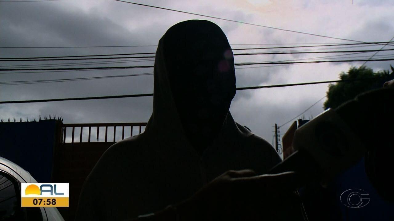 Vítima de estuprador em série em Maceió relata abordagem e modo de agir do suspeito