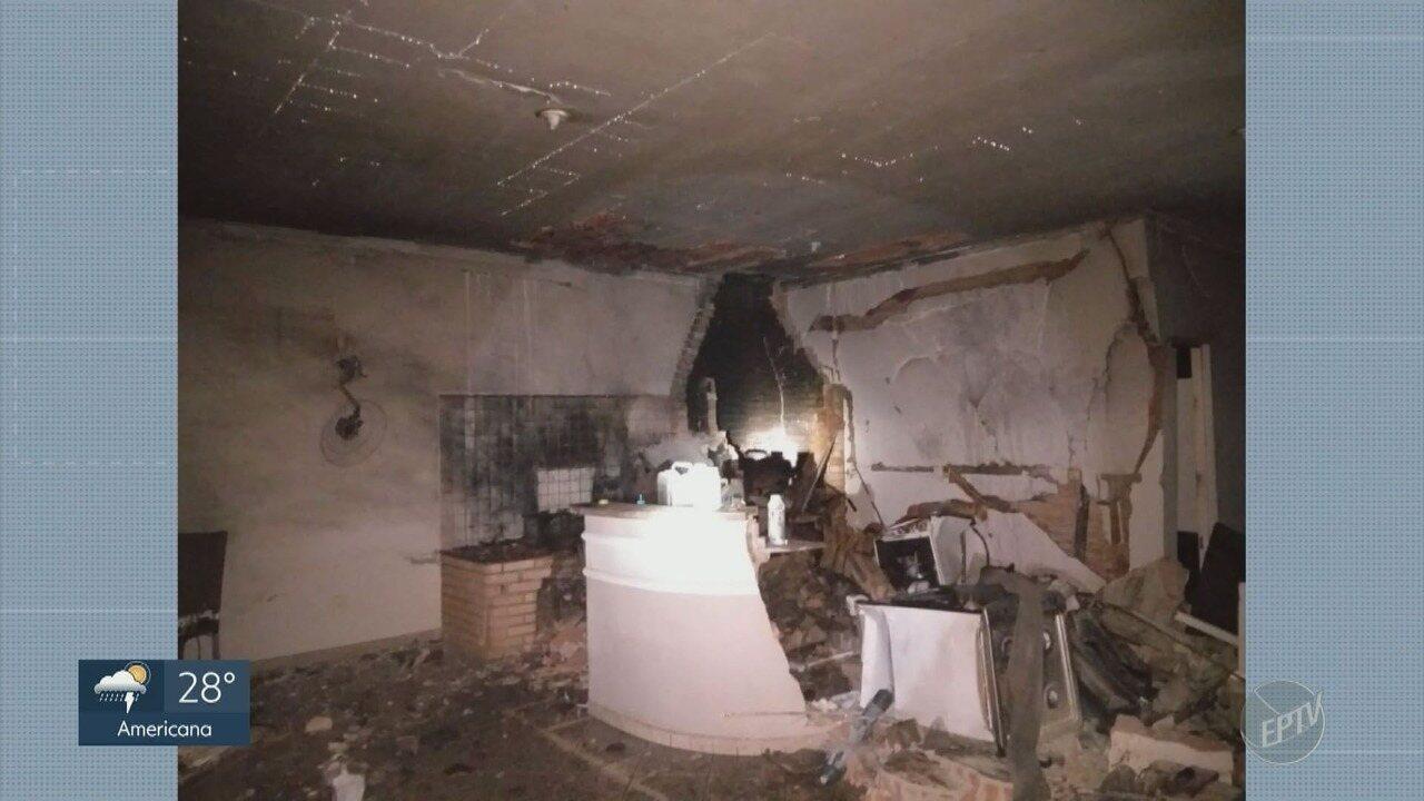 Homem de 33 anos morre após explosão dentro de casa, em Limeira