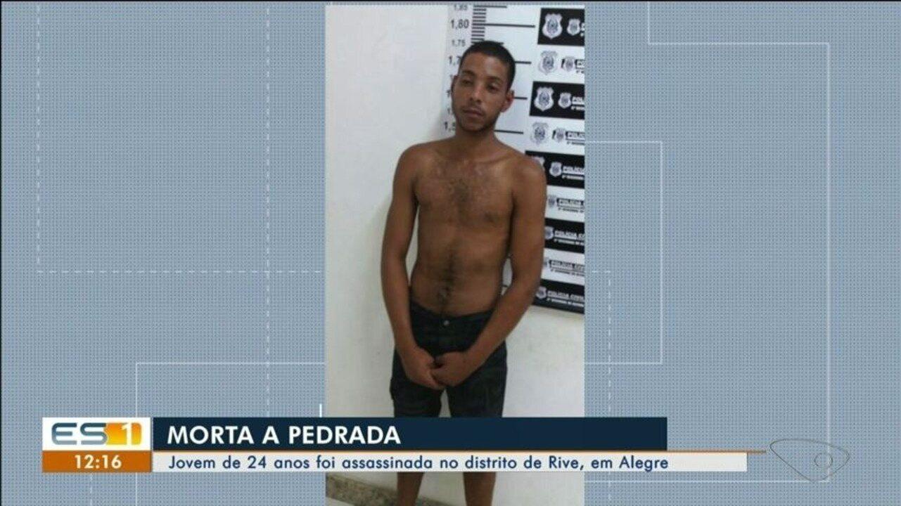 Jovem de 24 anos é assassinada no distrito de Rive, em Alegre, ES