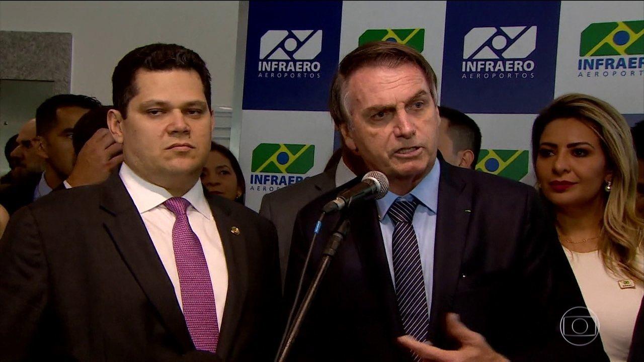 Bolsonaro recebe Guedes para discutir política de preços dos combustíveis