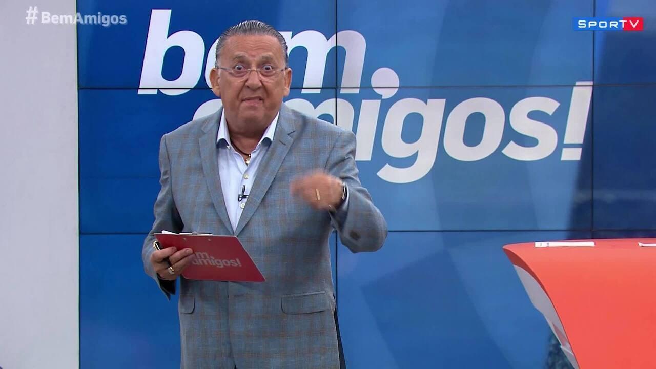 Galvão Bueno desabafa sobre violência de torcedores no fim de semana: