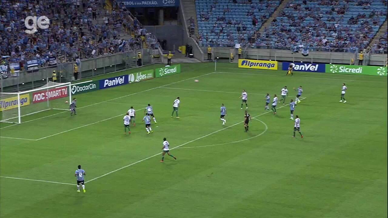 Confira o gol de Felipe Vizeu, pelo Grêmio, candidato ao Prêmio Bucha 2019