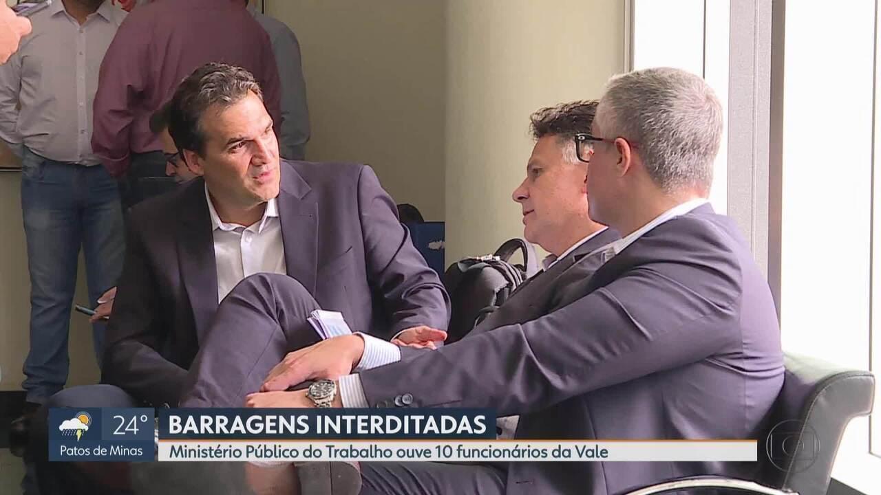 Situação das barragens interditadas da Vale é discutida em audiência em Belo Horizonte
