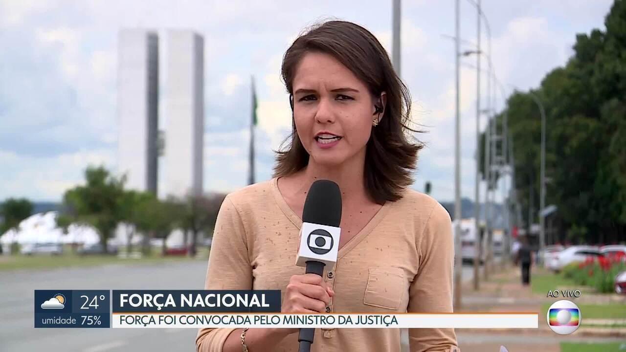 Ministro da Justiça, Sérgio Moro, convoca a Força Nacional de Segurança