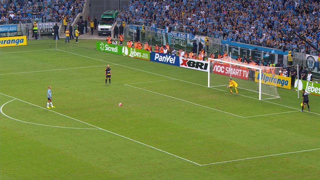 Confira a disputa de pênaltis entre Grêmio e Inter na final do Gauchão 2019