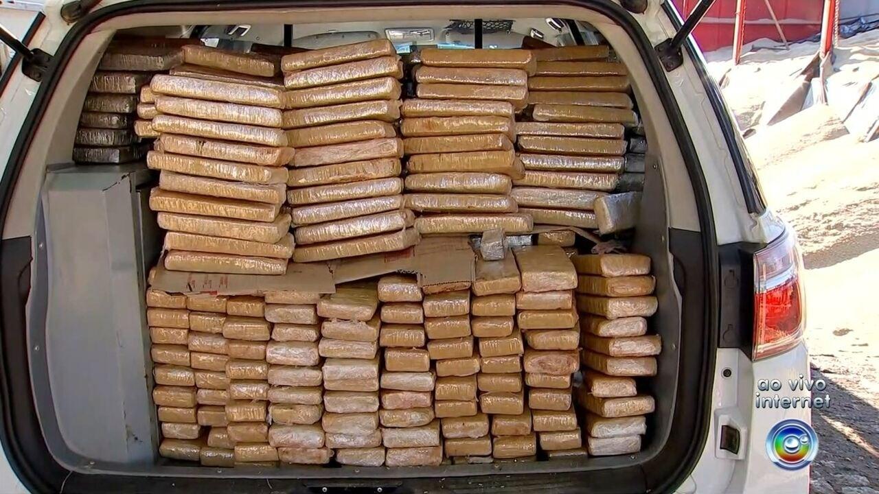 Polícia faz apreensão de grande quantidade de droga na Castello Branco