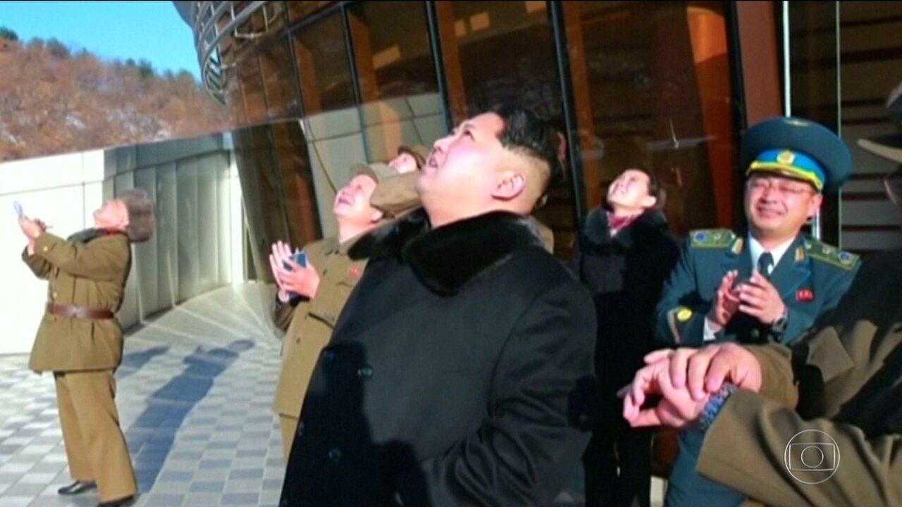 Coreia do Norte diz ter testado um novo tipo de 'arma guiado'