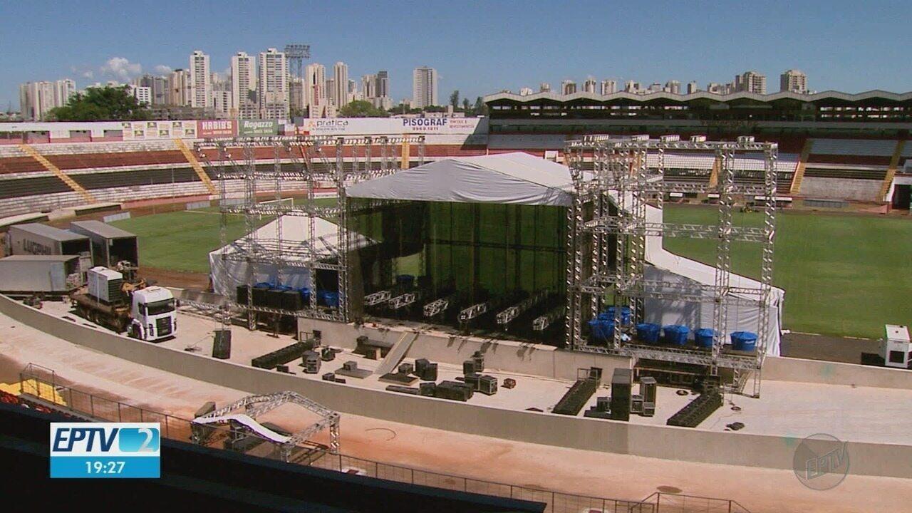 Novo estádio Santa Cruz vai receber show do Abba Cover, 1º evento após a reforma