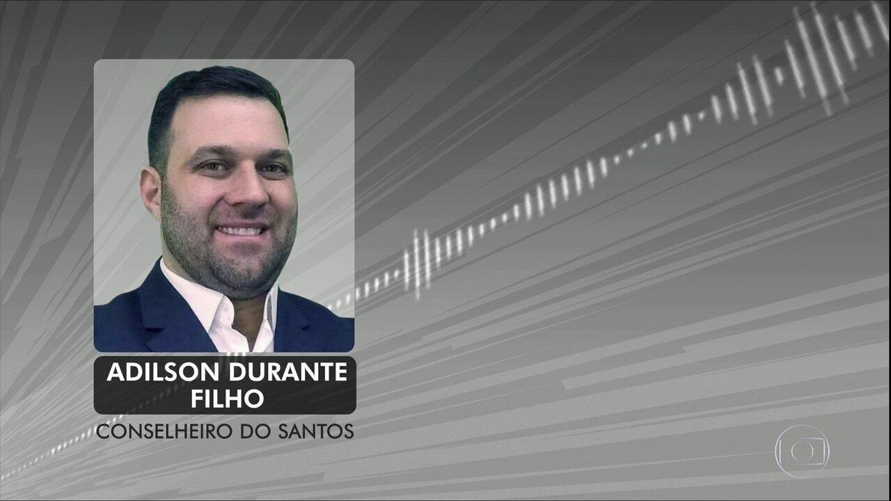 Aúdio racista de conselheiro do Santos vaza e clube se posiciona