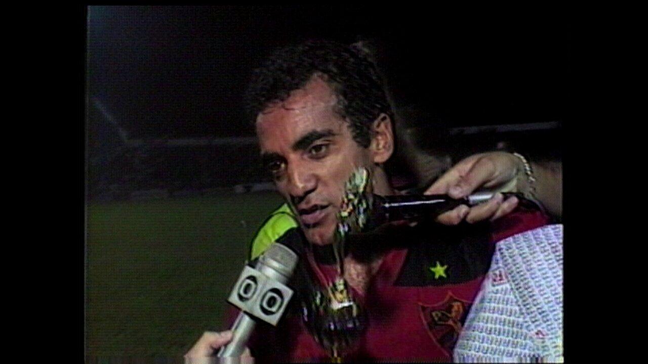 Com brilho de Édson e 4 a 1, Sport é campeão pernambucano de 1988