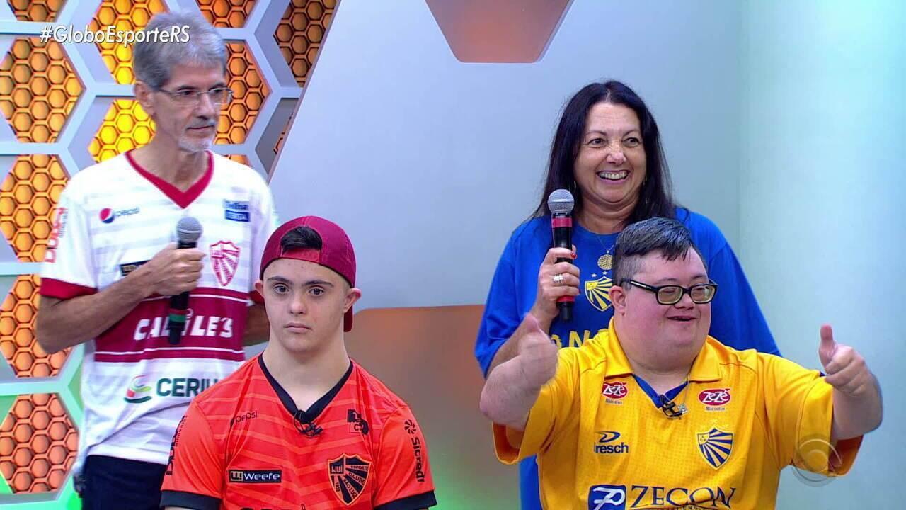 Em votação apertada, torcedor do São Luiz vence o cara do Gauchão