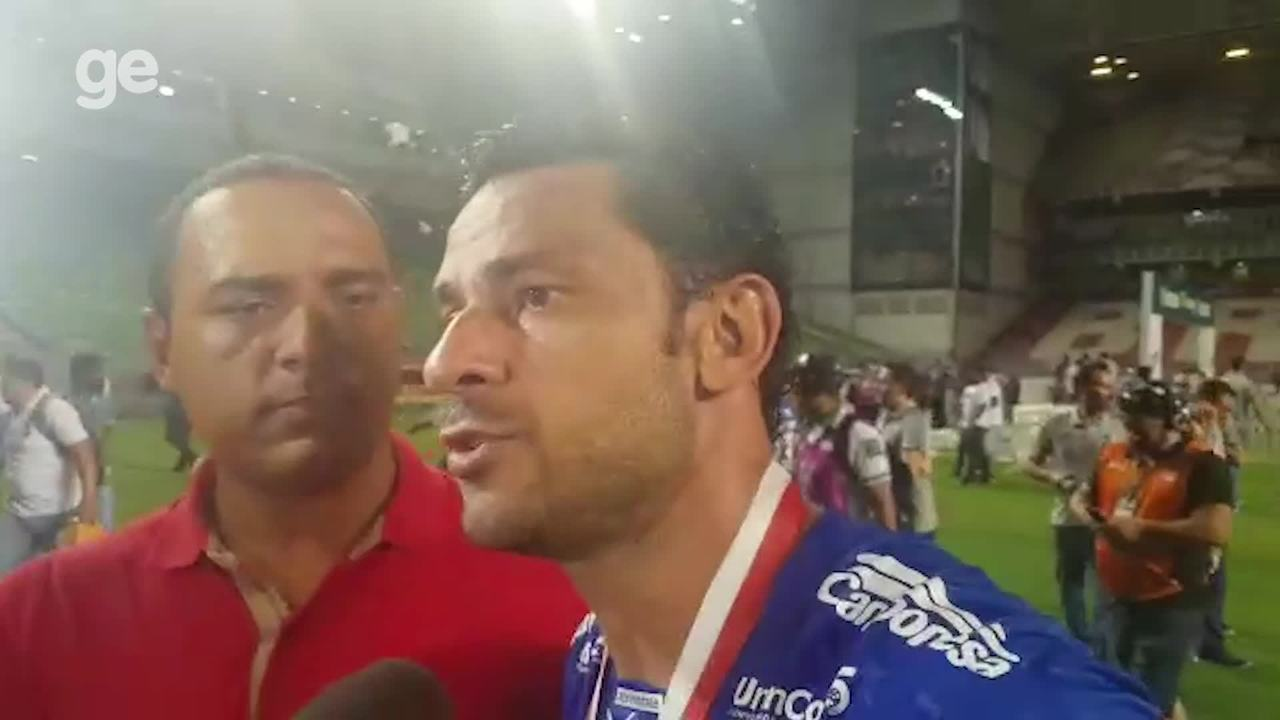 """Fred provoca presidente do Atlético-MG e fala sobre volta ao Cruzeiro: """"Caí pra cima"""""""