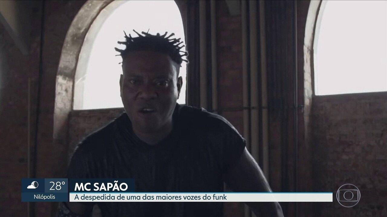 A despedida de MC Sapão