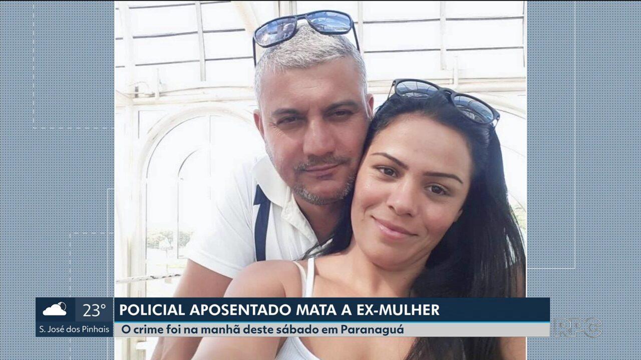 Policial aposentado mata a ex-mulher na frente dos filhos