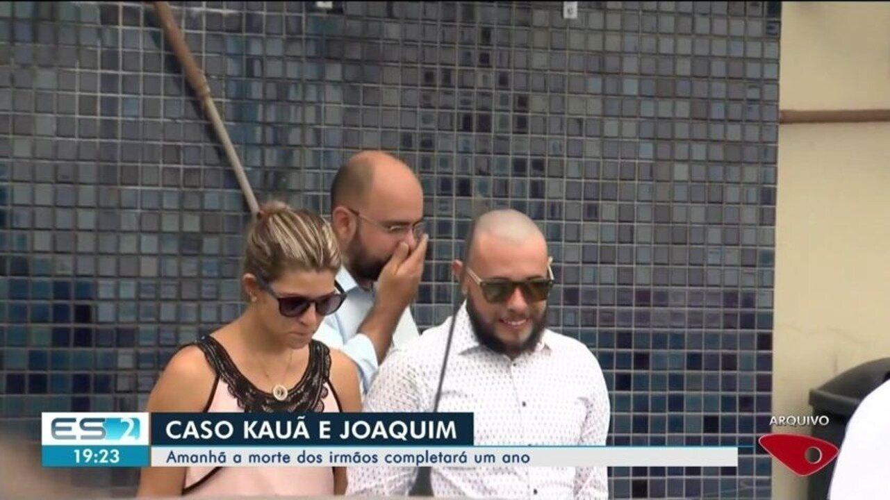 Morte dos irmãos Kauã e Joaquim em Linhares completa um ano neste domingo