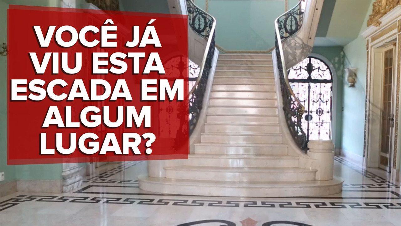 Conheça a escada já vista em clipes de Anitta, Pabllo, Kevinho e outros