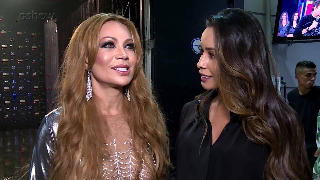Elenco do Grupo A comenta as apresentações no 'Show dos Famosos'