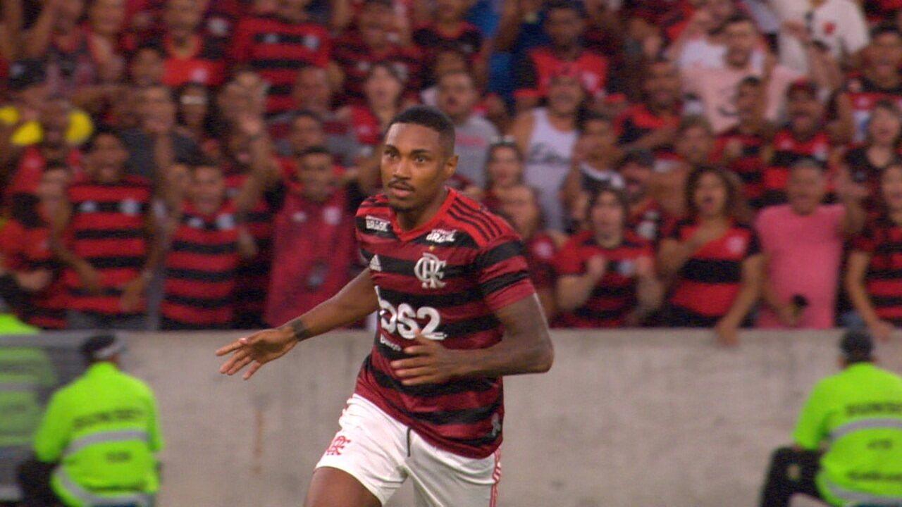 Os gols de Flamengo 2 x 0 Vasco pela decisão do Campeonato Carioca