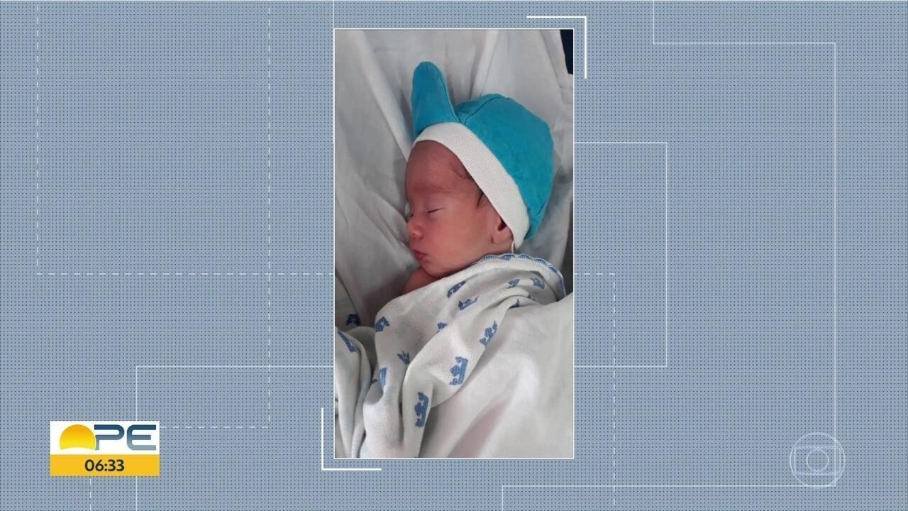 Recém-nascido levado do Imip é encontrado e devolvido à família