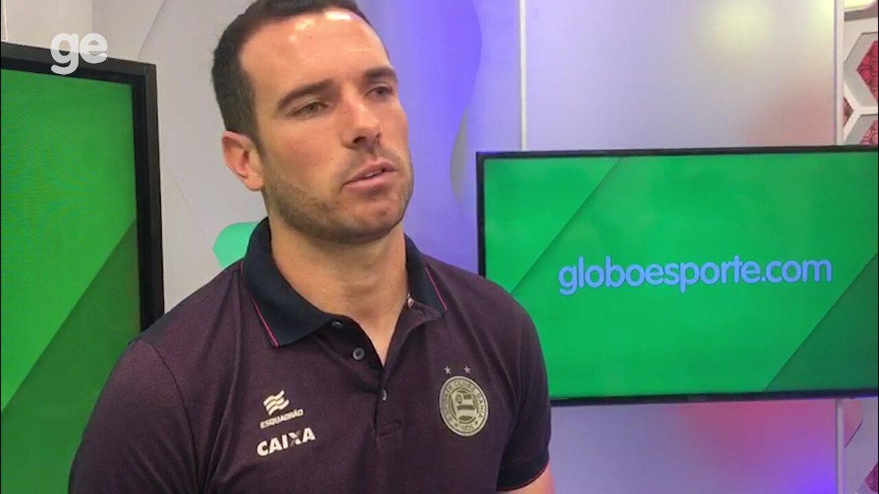 Lucas Fonseca fala sobre a relação Aderbal, funcionário do Bahia