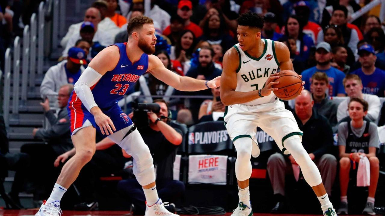 Melhores momentos: Milwaukee Bucks 127 x 104 Detroit Pistons pela NBA