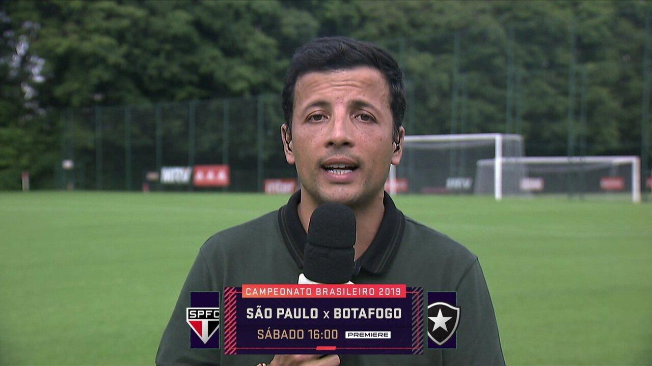André Hernan diz que São Paulo pode ir ao Mercado a procura atacante para suprir possível necessidade futura