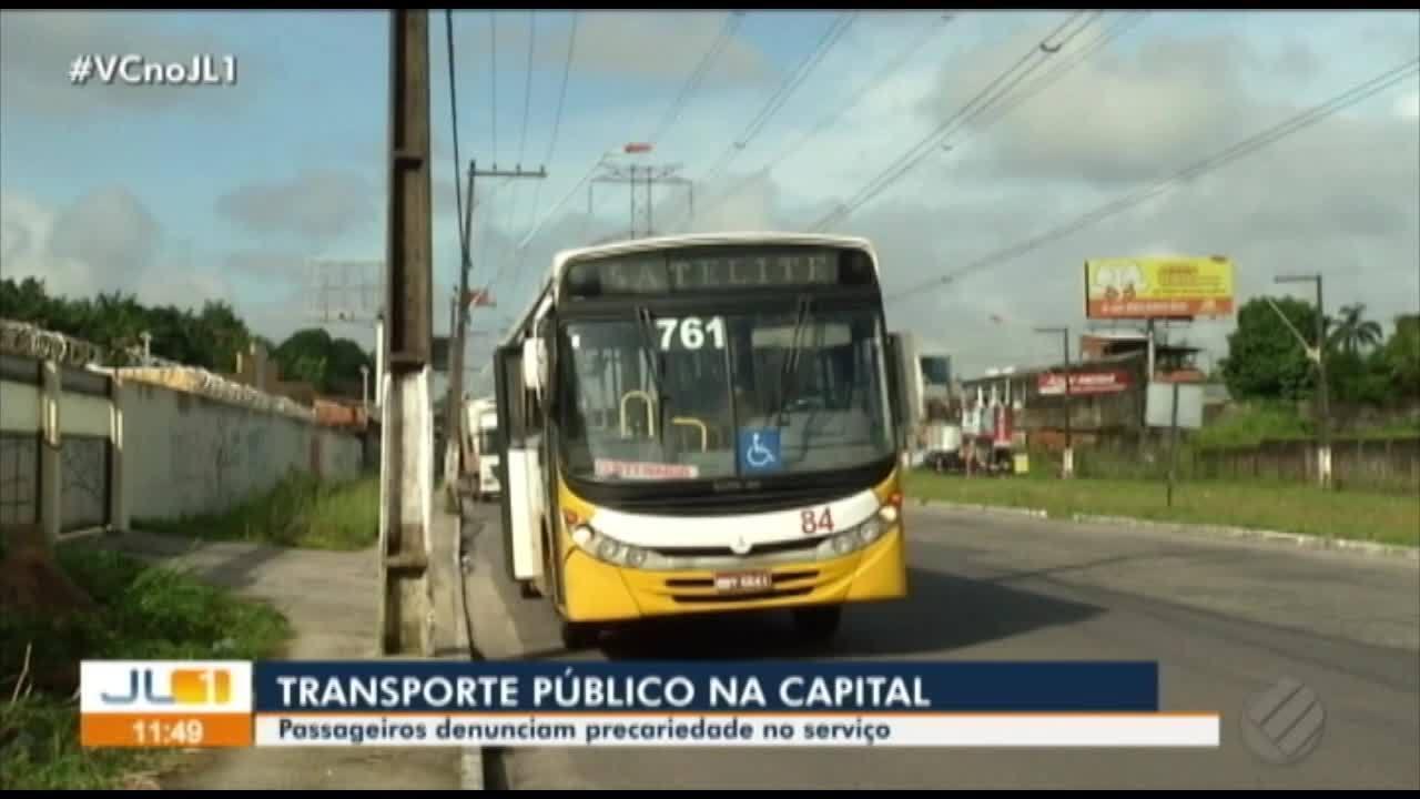 Passageiros denunciam precariedade no serviço dos ônibus da Grande Belém