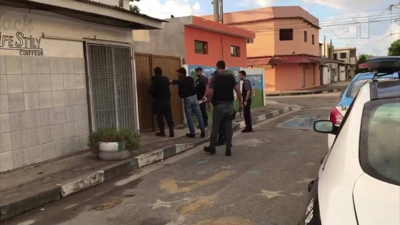 Polícia Civil cumpriu mandados para prender foragidos da Justiça em Campos