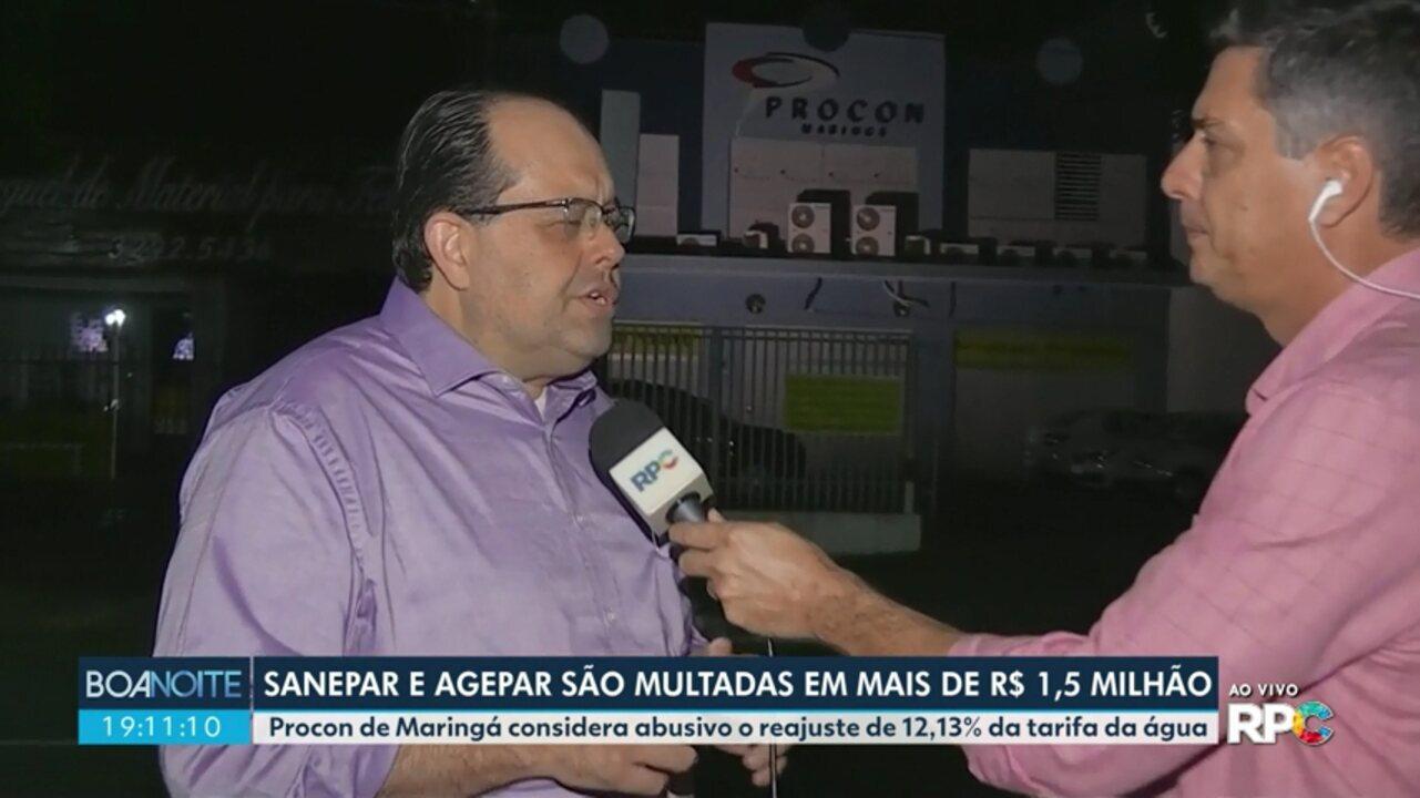 Procon multa Sanepar e Agepar em mais de um milhão de reais