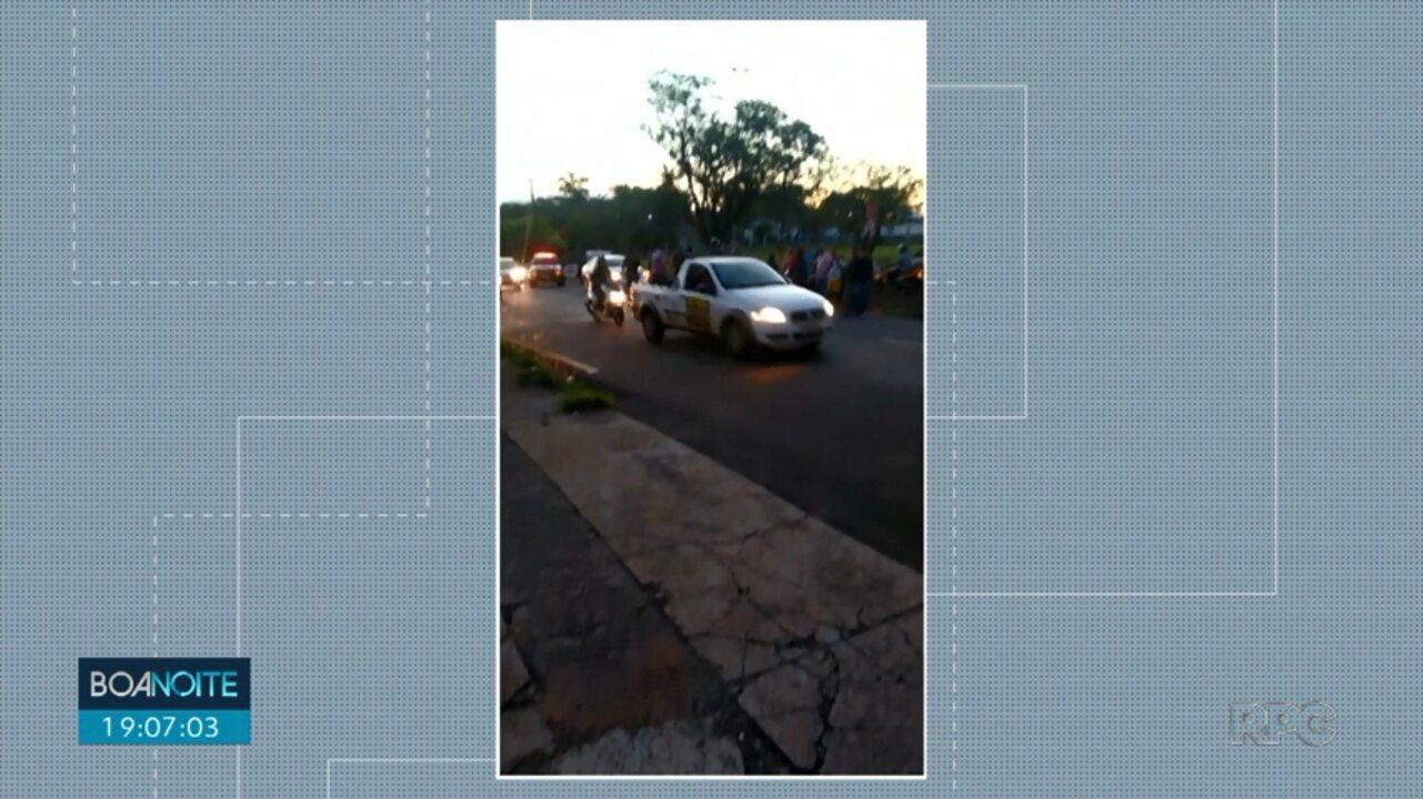 Idoso morre atropelado na zona norte de Londrina