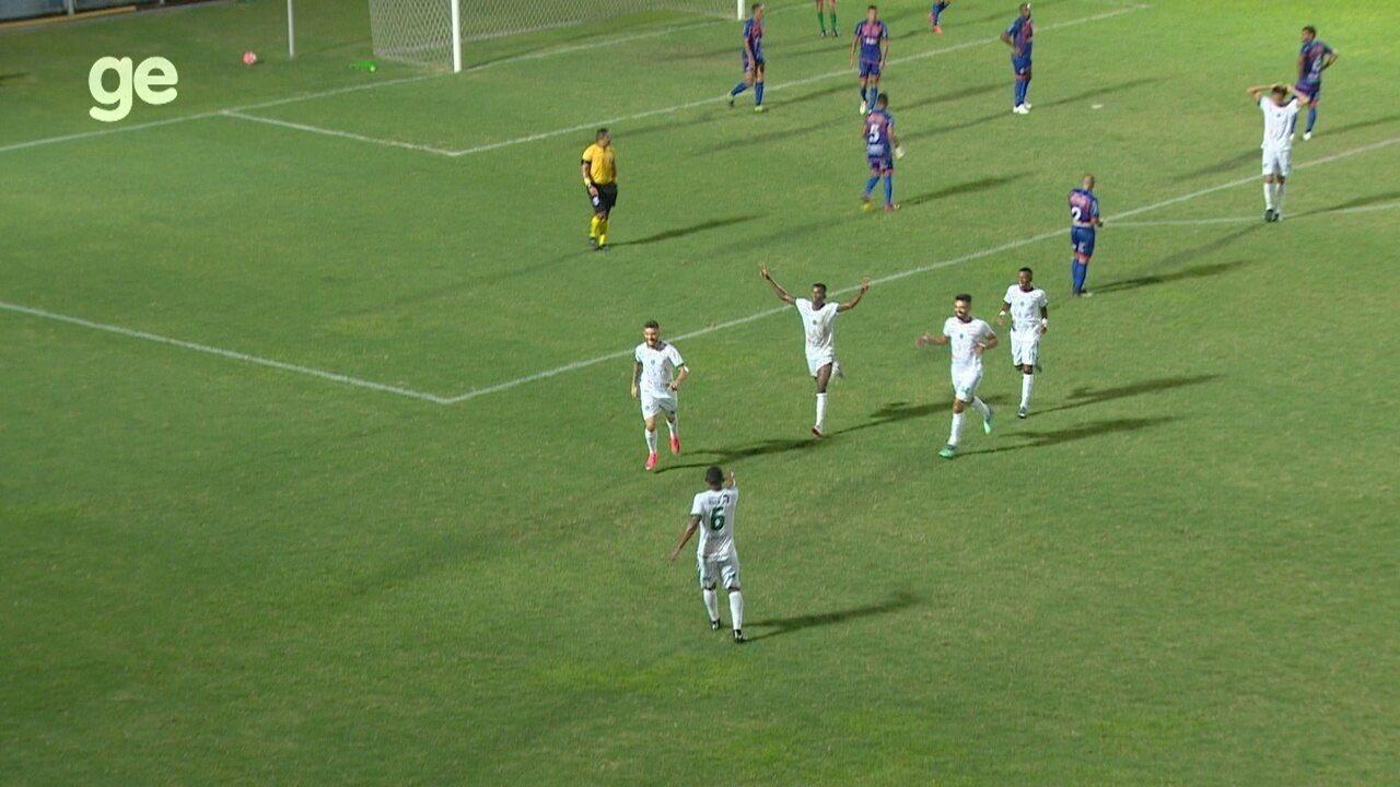 Veja os melhores momentos de Fast 0 x 2 Manaus, pelo jogo de ida da final