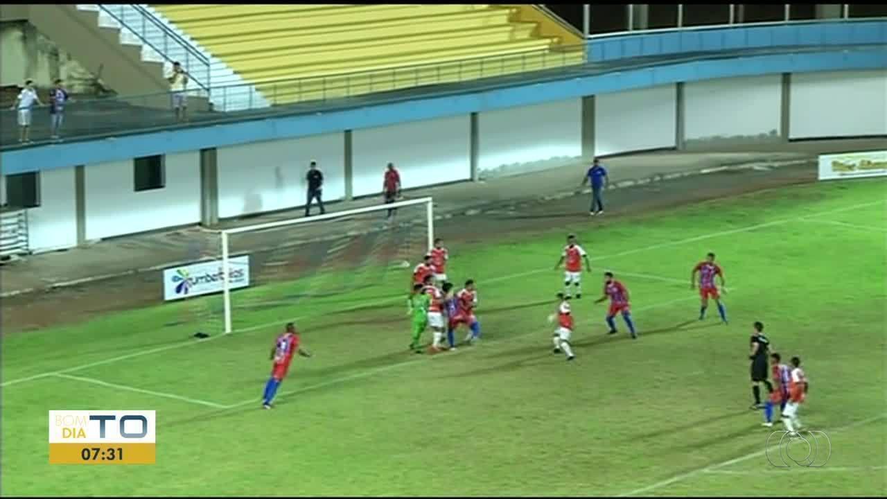 Araguaína empata com Arsenal no Mirandão
